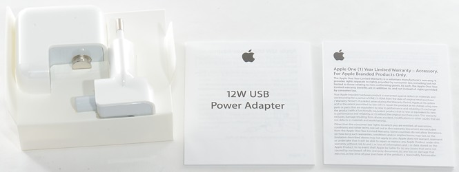 Оригинальная зарядка iPad