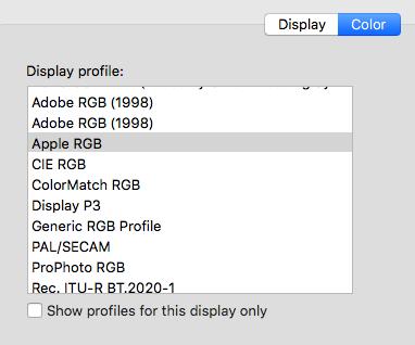 Apple RGB