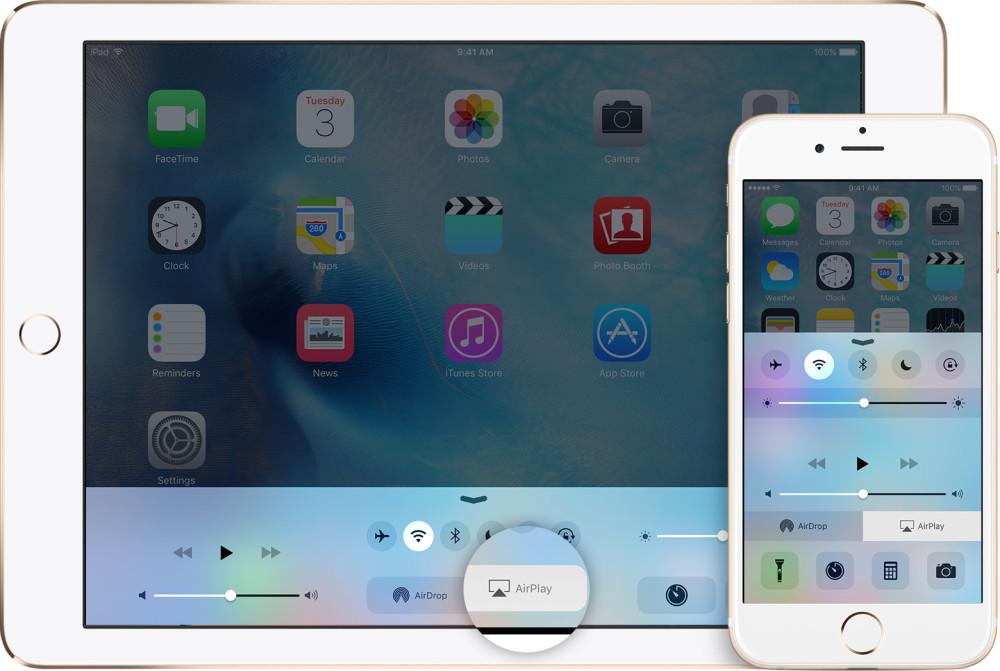 Как транслировать музыку c iPhone через AirPlay