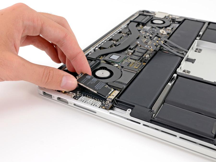 замена Wi-Fi модуля MacBook