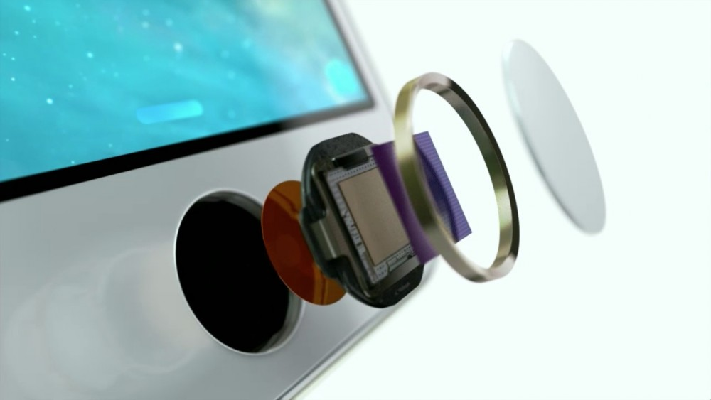 строение кнопки Home в iPhone 5s