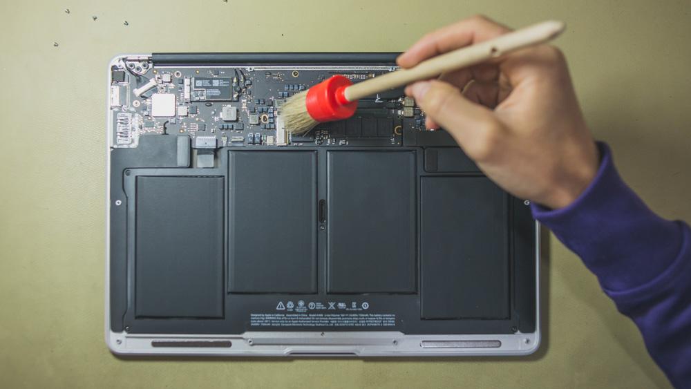 чистка macbook