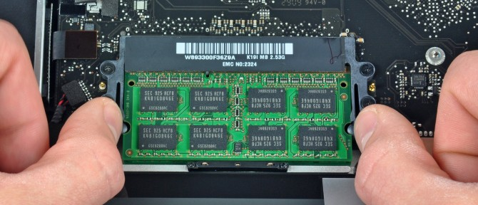 установка RAM