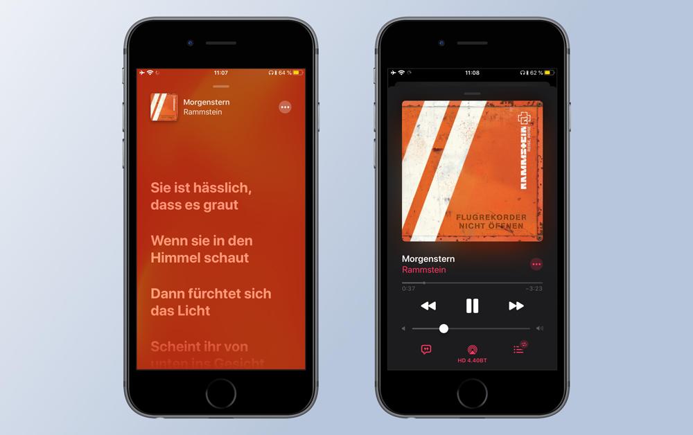 приложение «Музыка» iOS 13