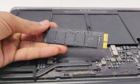 Замена SSD-накопителя MacBook в UiPservice