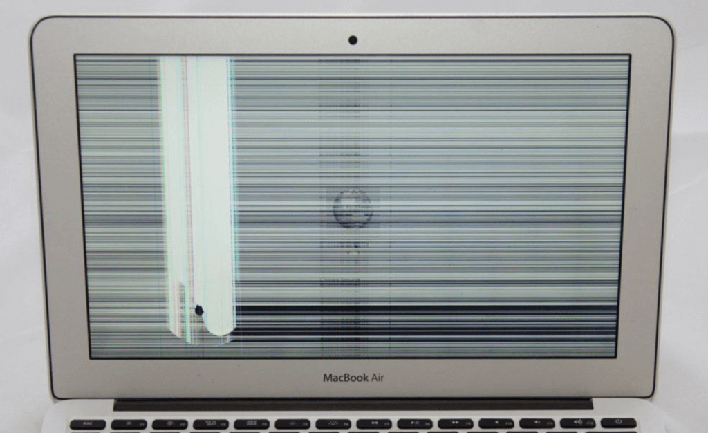 неисправный дисплей MacBook Air